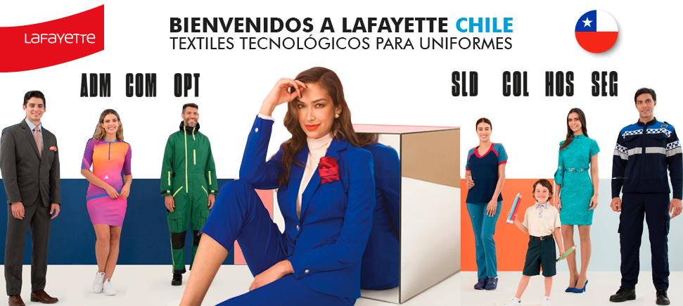 Telas para uniformes en Chile