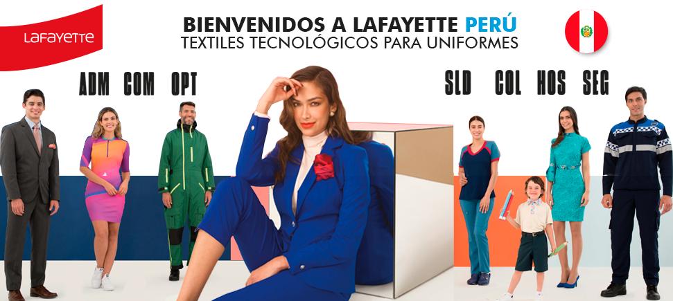 Telas para uniformes en Perú