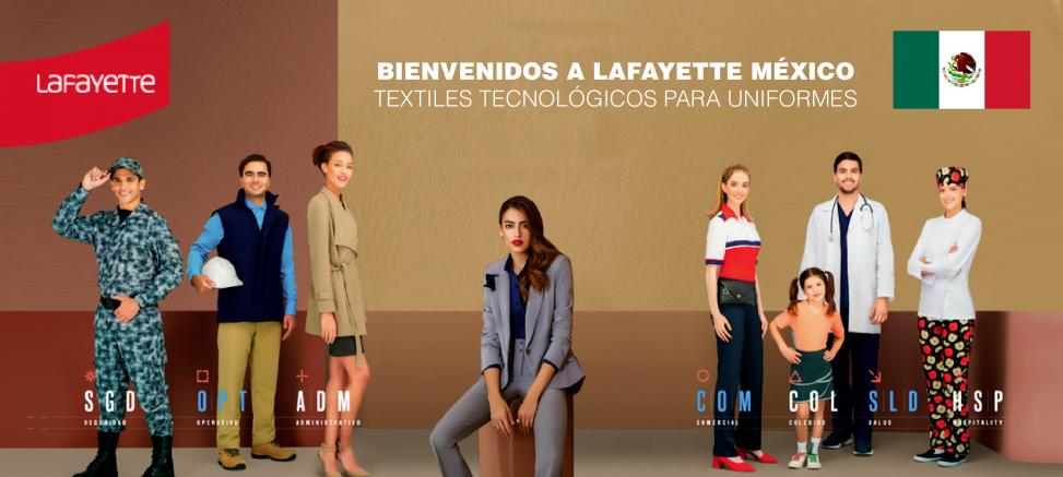 Telas para uniformes en México