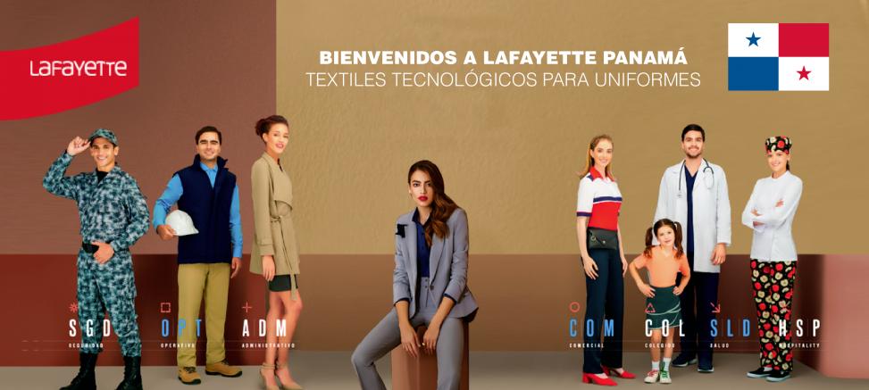 Telas para uniformes en Panamá