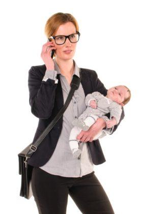 Madres modernas, mujeres ejecutivas