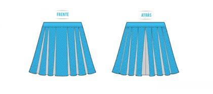 0e4fec5f90 Comprobar que la cantidad de tablas y el contorno de cintura sean los  seleccionados. NOTA  Marcar las tablas (paletones) por el derecho de la  tela con tiza ...