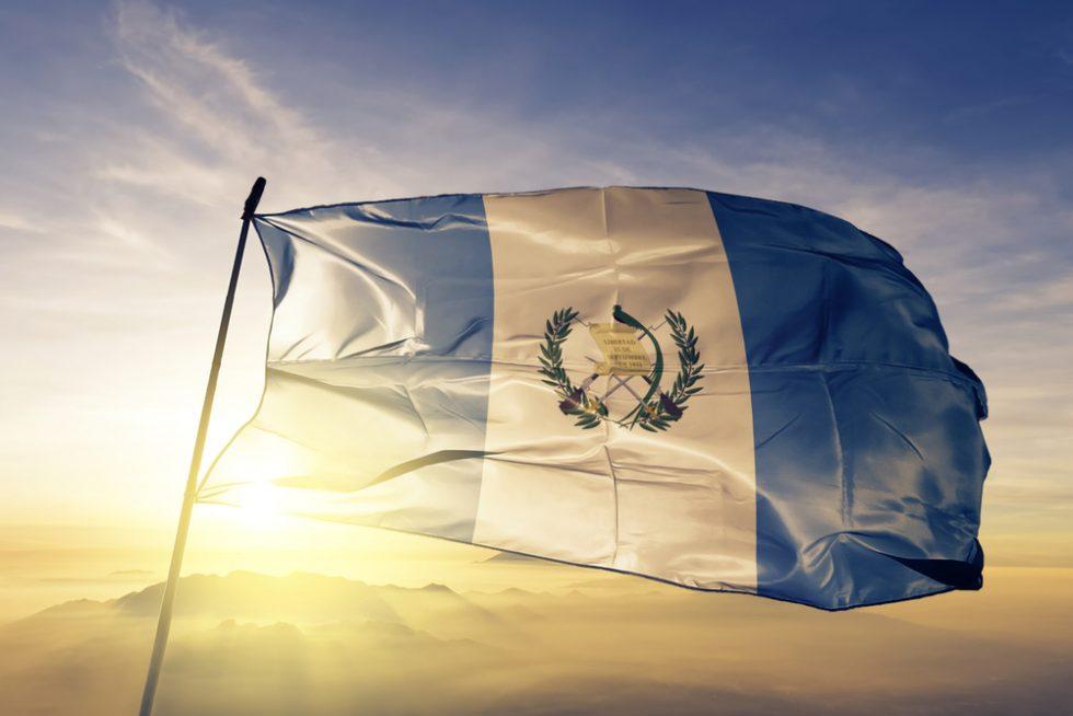 Bandera de Guatemala - Lafayette